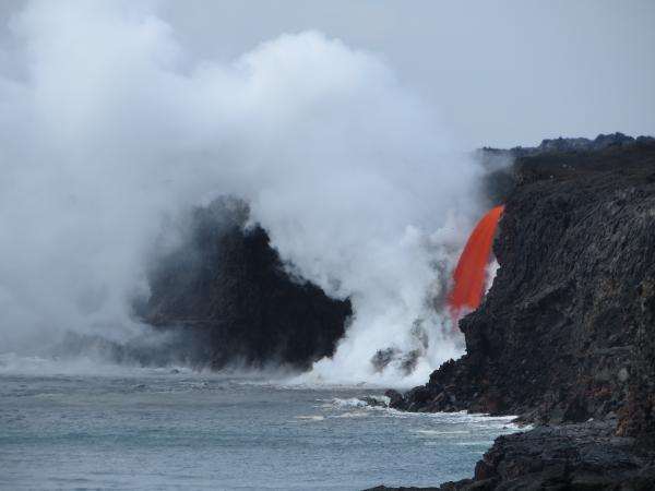 Bike to Pele - An Active Lava Flow Bike Tour