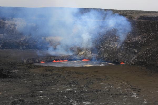 Hawaii volcano Bike Tour