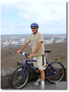 Volcano Bike Tour Adventure